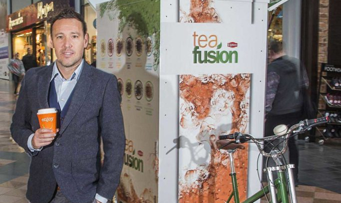 Worlds first Tea Fusion Tricycle