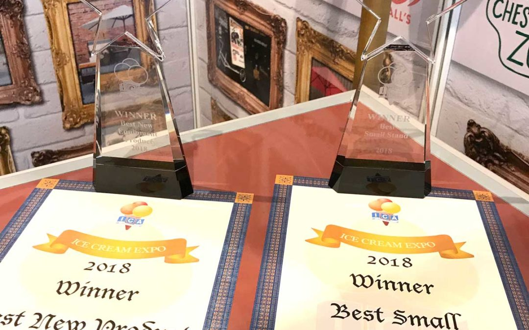 2018 Ice Cream Expo award winners